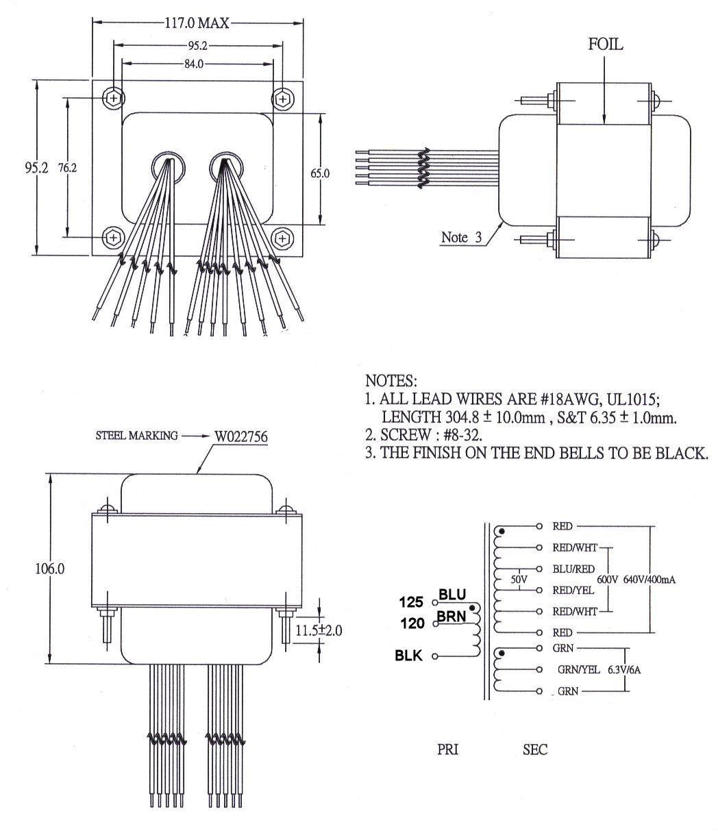 W022756 Transformer