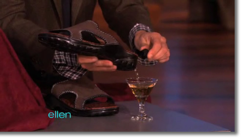 FlipFlask on the Ellen show